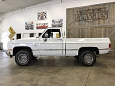 1987 Chevrolet C/K Truck 4x4 Regular Cab 1500 for sale 101028471